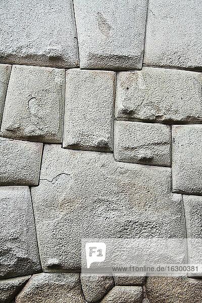 South America  Peru  Cusco  Stonewall of the Palace  Hatun Rumiyoq
