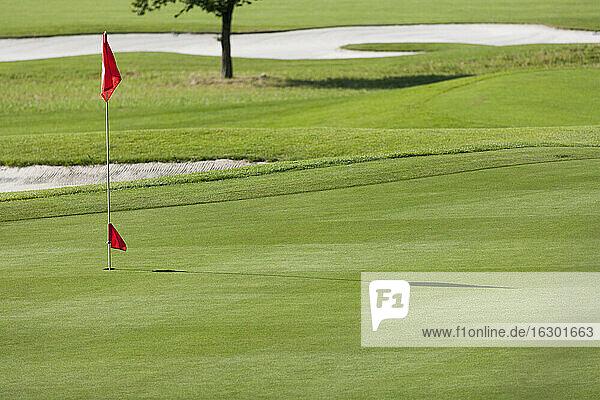 Germany  Bavaria  golf course near by Dorfen