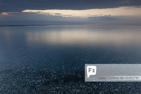 Germany  Baltic Sea  Bay of Luebeck in the morning