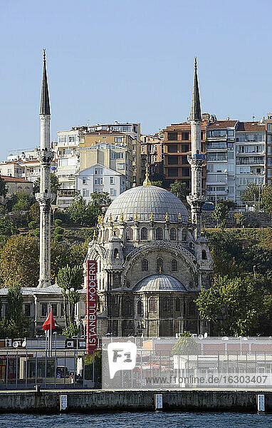 Turkey  Istanbul  Nusretiye Mosque