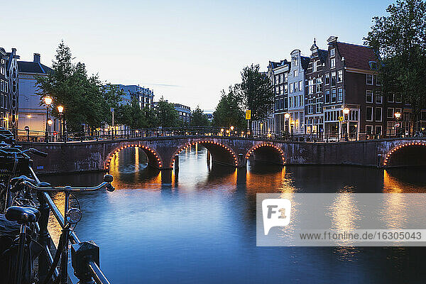 Netherlands  Holland  Amsterdam  Prinsen canal  Leidse canal