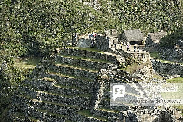 Peru  Andes  Machu Picchu