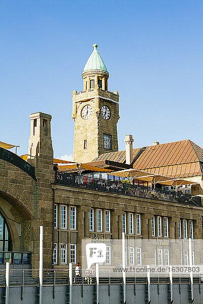 Germany  Hamburg  St. Pauli gauge tower