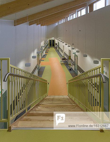 Pflegeheim-Treppe