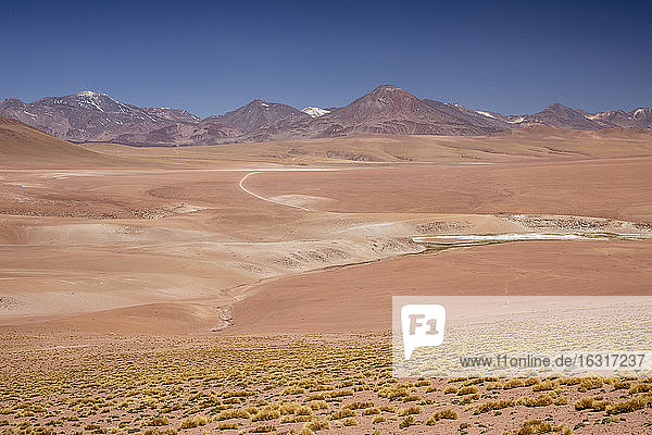 Stratovolcanoes in the Andean Central Volcanic Zone  Antofagasta Region  Chile  South America