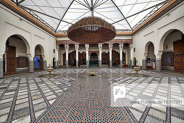 Musée de Marrakech  Marrakesch  Marokko  Afrika