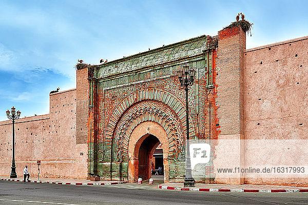 Bab Agnaou  Marrakesch  Marokko  Afrika