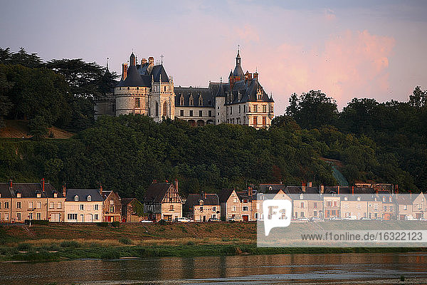 France  Chaumont-sur-Loire  view to Chateau de Chaumont