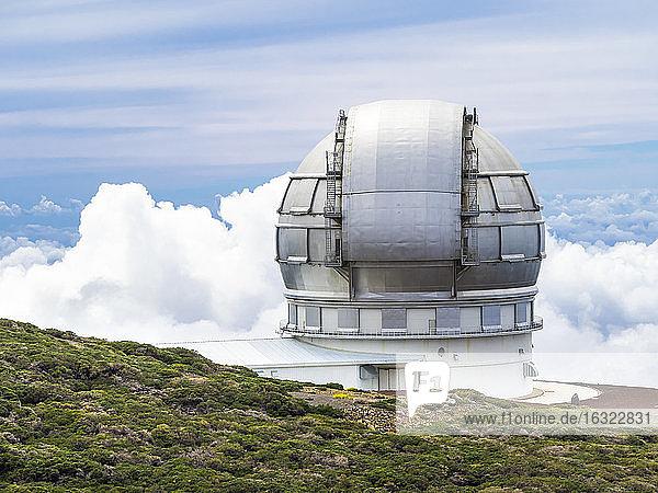 Spain  Canary Islands  La Palma  Observatory at Roque de los Muchachos  Gran Telescopio Canarias