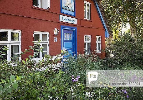 Germany  Mecklenburg-Western Pomerania  Wustrow  house Schifferwiege