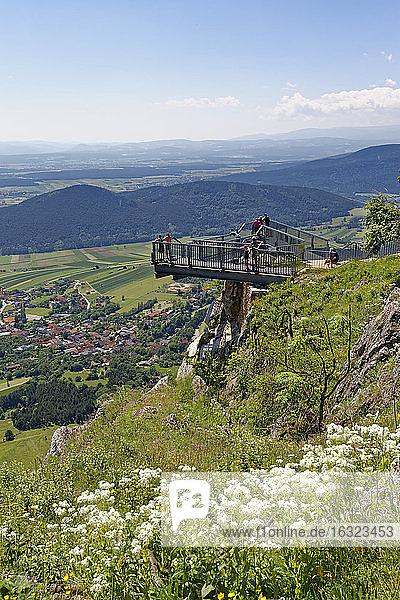 Austria  Lower Austria  skywalk at Hohe Wand