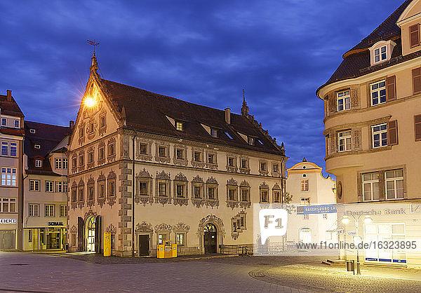 Germany  Baden-Wuerttemberg  Ravensburg  Lederhaus at Marienplatz