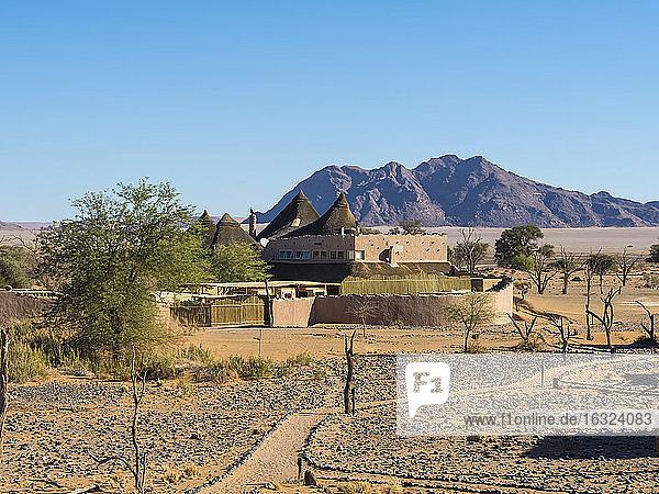 Africa  Namibia  Hardap  Kulala Wilderness Reserve  Little Kuala Lodge at Namib desert