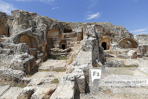 Turkey  Anatolia  South East Anatolia  Adiyaman Province  Adiyaman  Necropolis of Perrhe