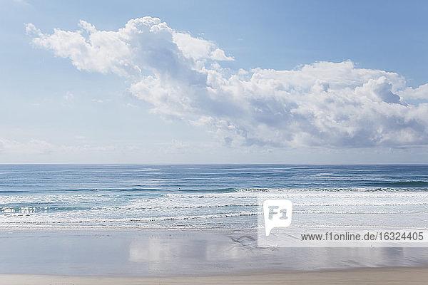 New Zealand  South Pacific Ocean  Mangawhai Heads  Surf beach