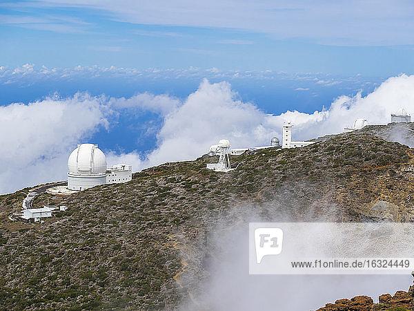 Spain  Canary Islands  La Palma  Observatory at Roque de los Muchachos