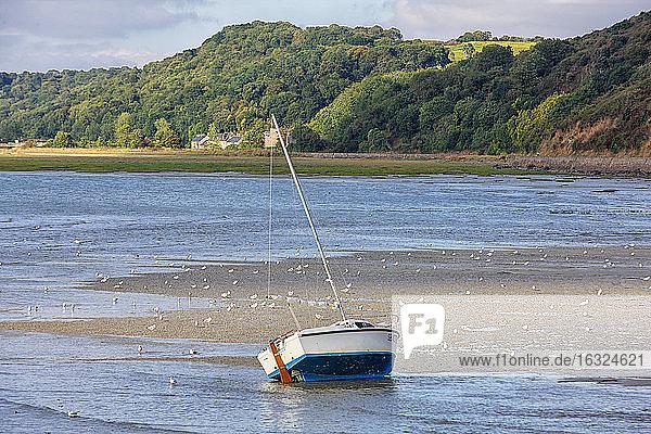 France  Brittany  Arguenon river