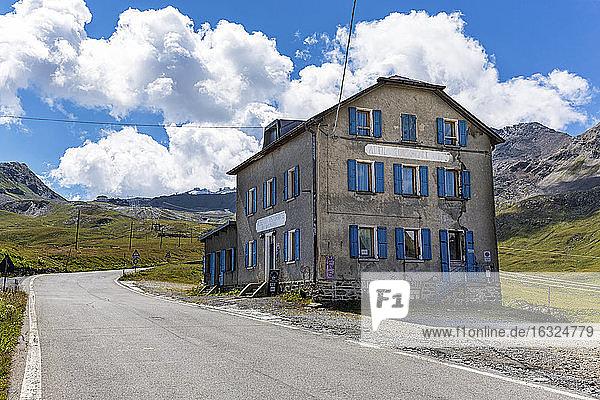 Italy  Lombardy  Veltlin  Stelvio pass
