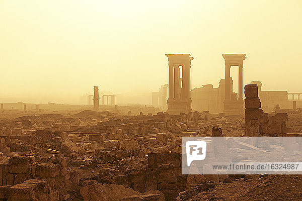 Syria  Homs Governorate  Palmyra Temple of Bel