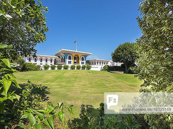 Oman  Muscat  Al Alam Palace  Qasr Al Alam