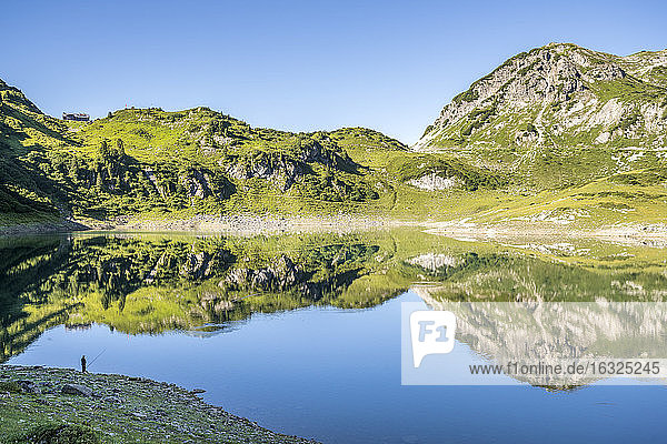 Austria  Vorarlberg  Lechtal Alps  Lake