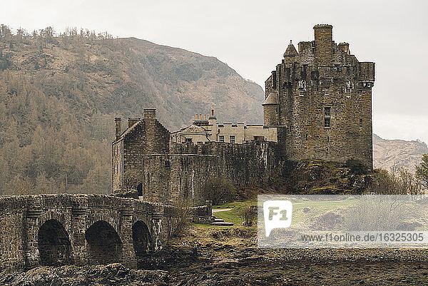 United Kingdom  Dornie  Eilean Donan Castle