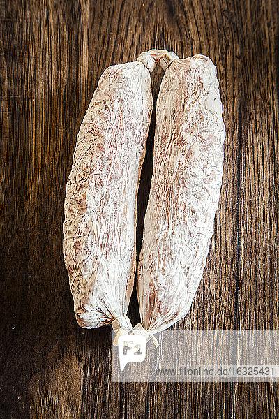 Pair of Casareccia on wood
