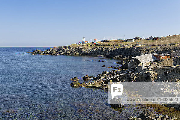 Turkey  Black Sea  Cape Inceburun