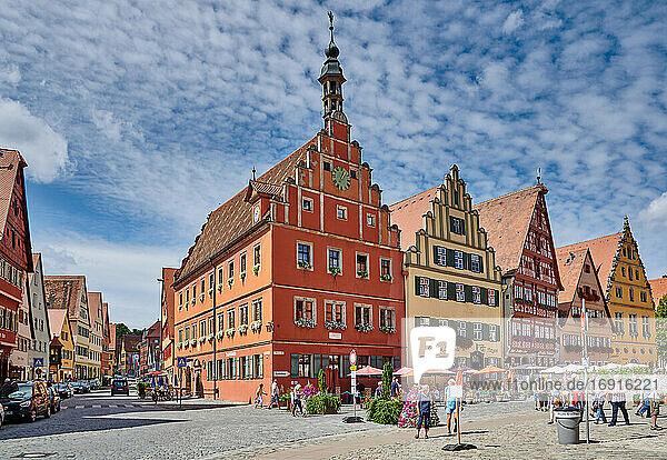 Altstadt von Dinkelsbühl  Mittelfranken  Bayern  Deutschland |old town of Dinkelsbuhl  Central Franconia  Bavaria  Germany|