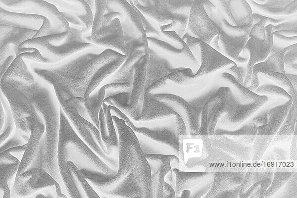 Inverted image of crumpled fleece fabric