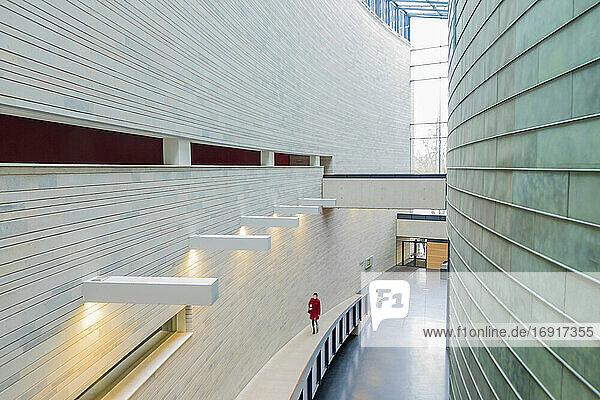 Art museum interior  Kumu  Tallinn  Estonia
