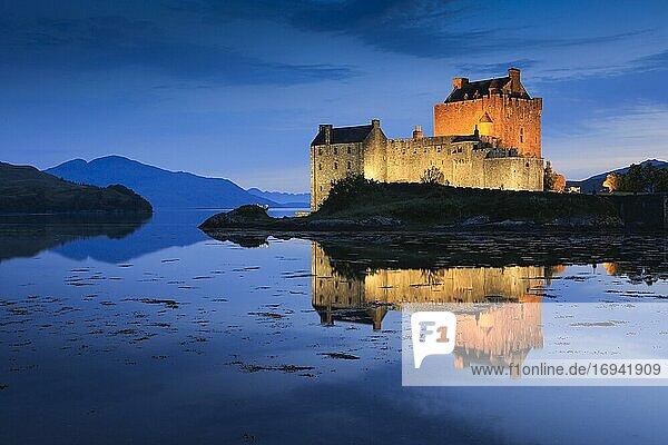 Eilean Donan Castle  Schottland  Großbritannien  Europa