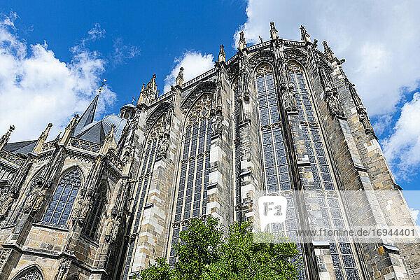 Aachener Dom  UNESCO-Welterbe  Aachen  Nordrhein-Westfalen  Deutschland  Europa