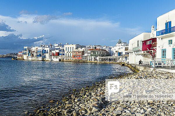 Klein Venedig  Horta  Mykonos  Kykladen  Griechische Inseln  Griechenland  Europa
