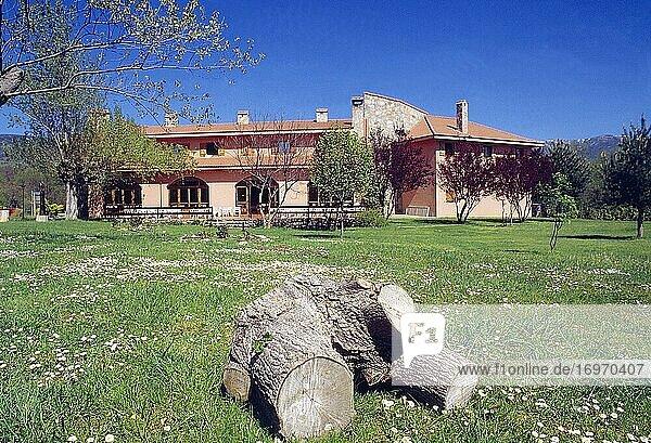Rural hotel. Rascafria  Madrid province  Spain.