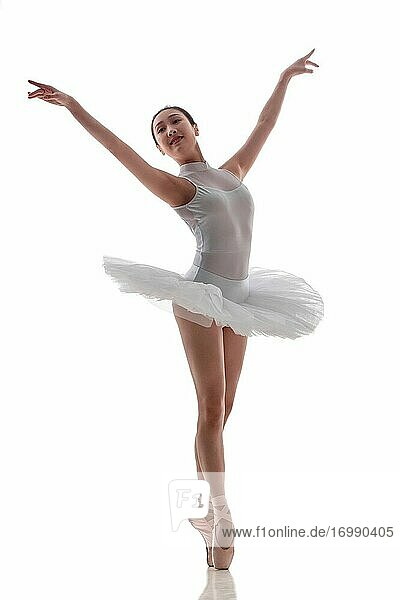 Dance ballet young woman