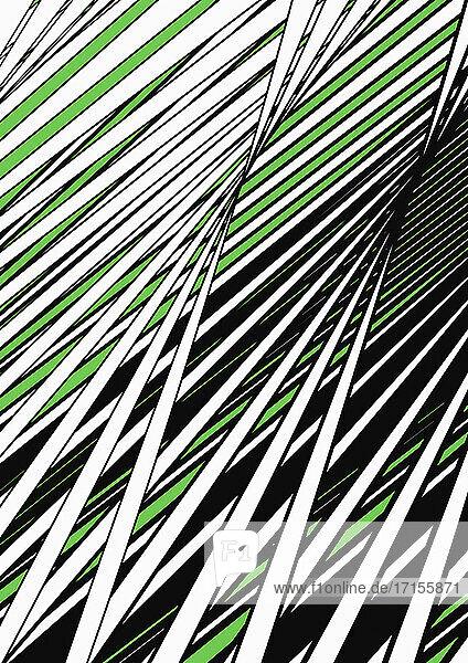 Abstraktes sich kreuzendes Muster
