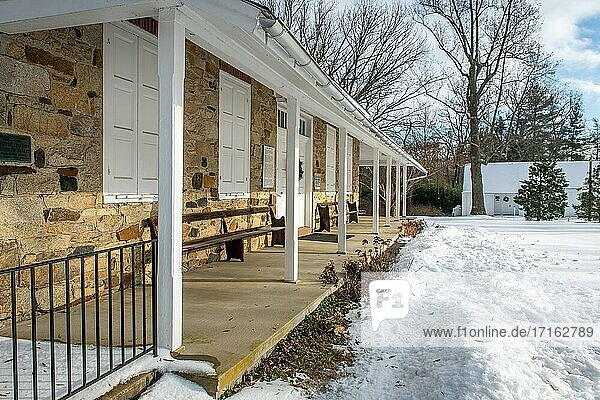 Little Falls Friends Meeting - Quaker meeting house in Harford County Maryland.