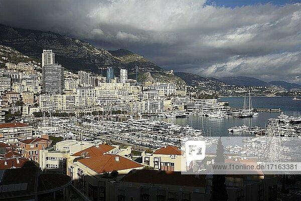 Cityscape of Monte Carlo  Principality of Monaco.