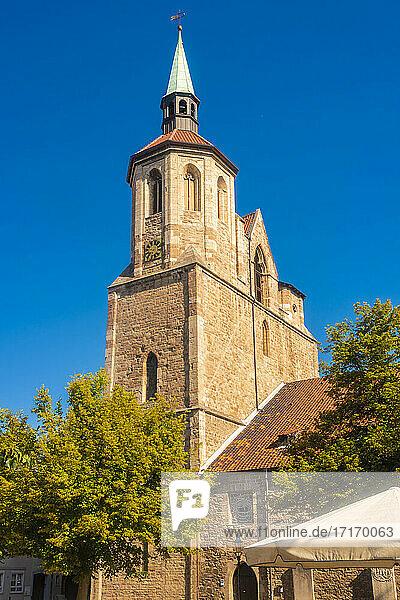 Germany  Lower Saxony  Brunswick  Bell tower of Saint Magnus Church