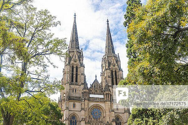Germany  Baden-Wurttemberg  Stuttgart  Facade of St Maria als