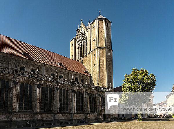 Germany  Lower Saxony  Brunswick  Exterior ofBrunswick Cathedral
