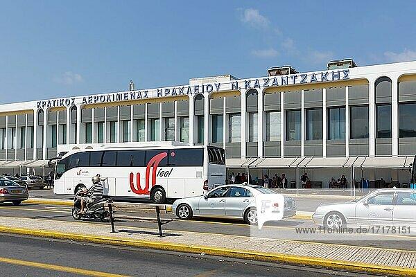 Terminal Heraklion Airport (HER) in Greece