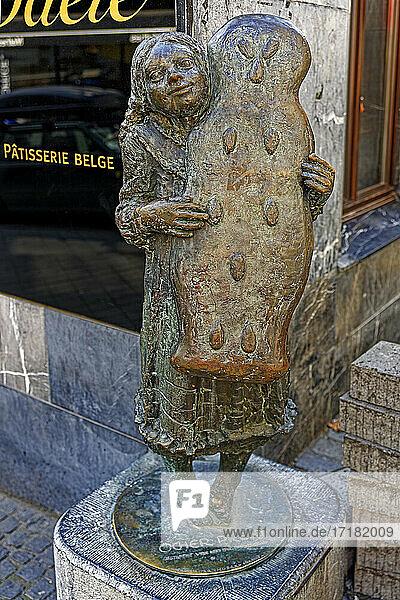 Printenmädchen  Öcher Print  Skulptur