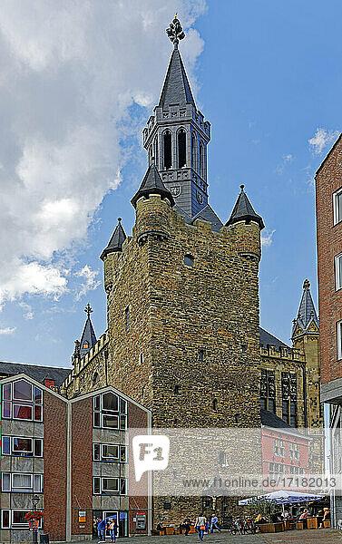 Rathaus Aachen  Standesamt  Rathausturm