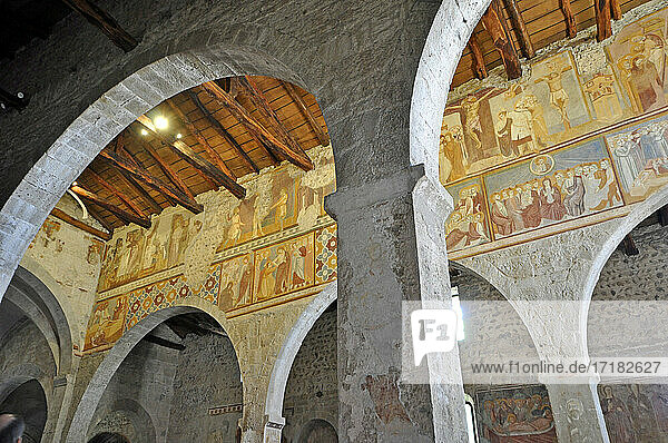 Italien  Lombardei  Almenno San Salvatore  San Giorgio in Lemine