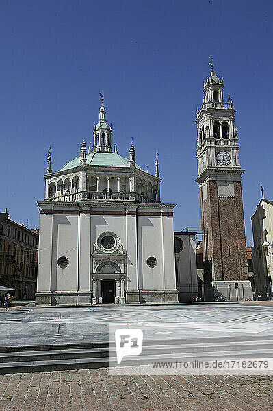 Europe  Italy  Lombardy  Varese country  Busto Arsizio  cathedral  S. Giovanni Battista basilica
