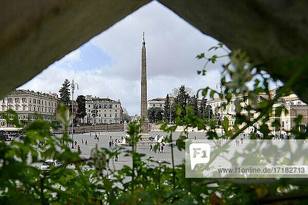 Italien  Latium  Rom  Piazza del Popolo