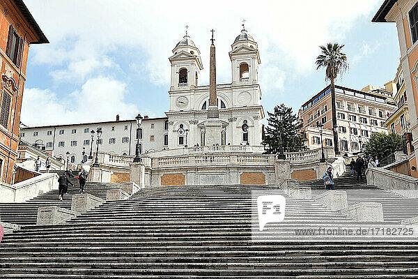 Italien  Latium  Rom  Trinità dei Monti