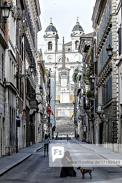 Italien  Latium  Rom  Via del Corso